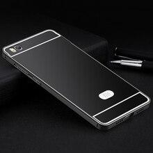 Aimak Brand Aluminum Metal Frame &  PC Back Cove Case For Xiaomi Mi 5 5S Mi5 Mi5S Luxury Mobile Phone Cover