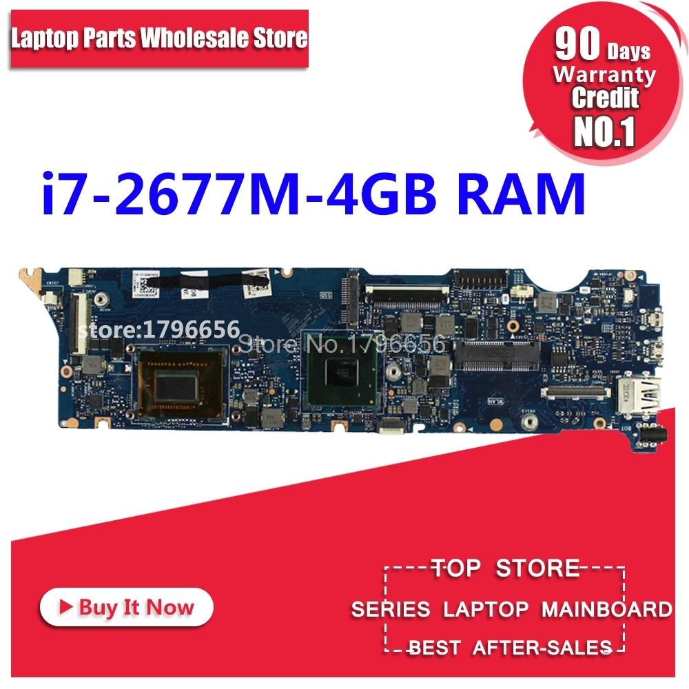 UX31E motherboard REV3.2 i7-2677 4 g memory for ASUS UX31E motherboard laptop UX31E motherboard motherboard UX31E Tests 100% OK цена