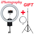 NanGuang CN-R640 R640 Fotografía Video Studio 640 Continua LED Macro anillo de Luz 5600 K Día Iluminación + Trípode + Soporte + espejo