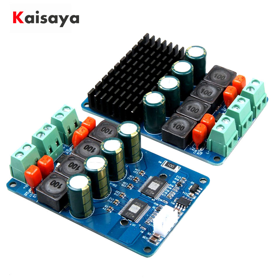 Xh M544 Dc 12v 24v 150w Tpa3116d2 Mono Channel Digital Power Audio Class D Amplifier Circuit Btl Pcb Tda8920 High Efficiency Tpa3116 Pbtl Module 100w X 2 Stereo Board Amplificador