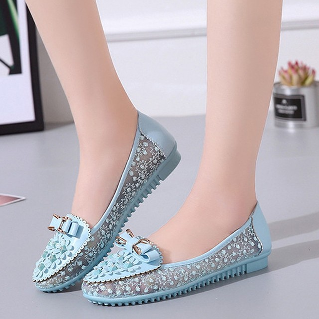 Woman Flats 2019 Pointed Toe Slip on Shoes Woman Ballet Flats PU Leather Loafers Boat Shoes Weave Ladies Shoes Zapatos Mujer#N3