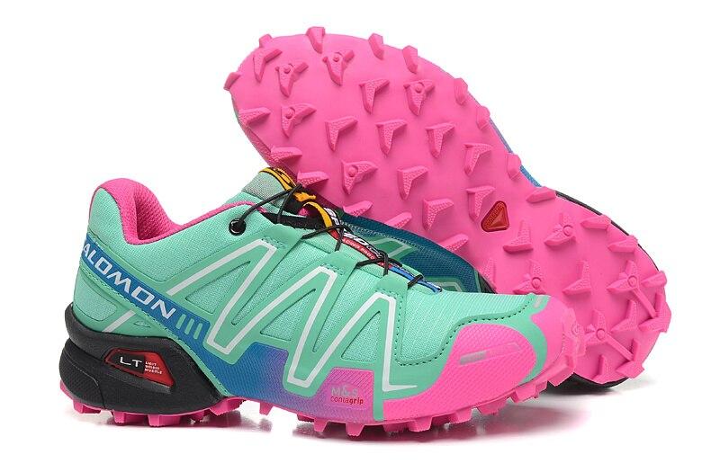 bas prix 1e006 46192 US $19.66 44% OFF|Salomon Speed Cross 3 CS III Marathon Women Sneakers  zapatos de mujer Women Running Shoes Outdoor Sports Sneakers Free  Shipping-in ...