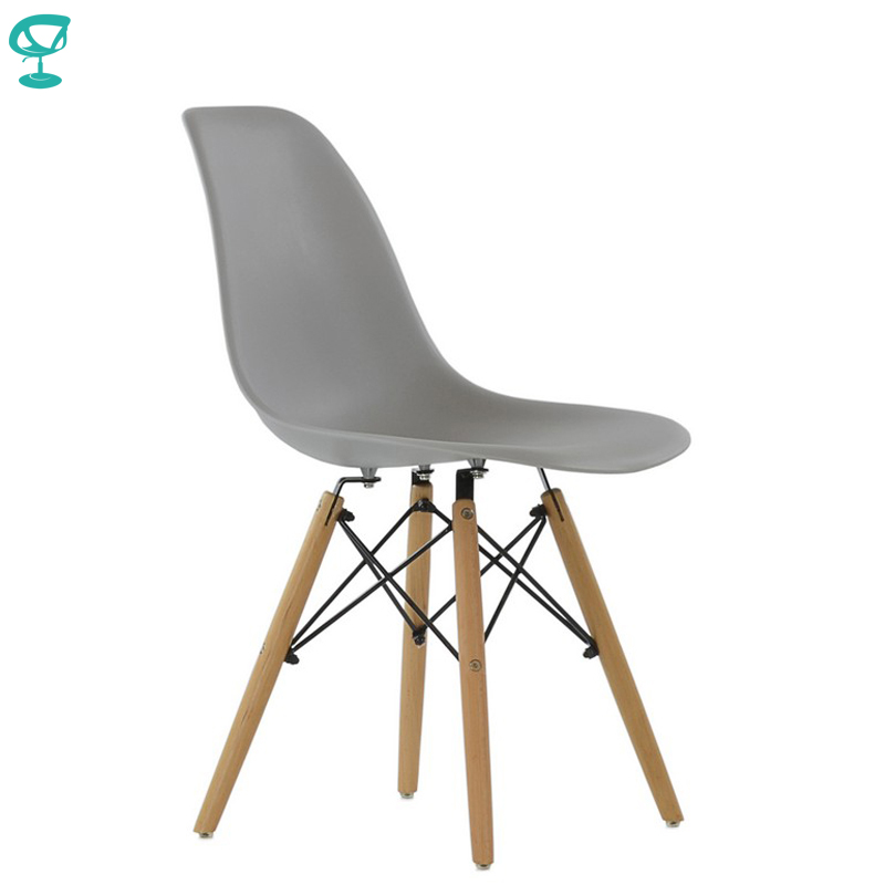 94990 Barneo N-12 Plastic Wood Kitchen Breakfast Interior Stool Bar Chair Kitchen Furniture Gray Free Shipping In Russia