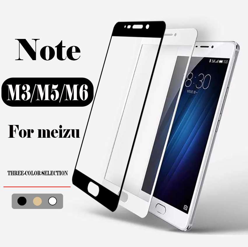 Protective glass on the for meizu m3 m5 m6 note screen protector film maisie meuzu tremp m 3 5 6 tempered glas mezu not meizy 6m image