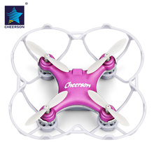 Outdoor Drone CHEERSON CX – 10SE Nano RC Quadcopter RTF 2.4GHz 4CH 6-axis Gyro / 360-degree Flip / Speed Switch Helicopter Gifts
