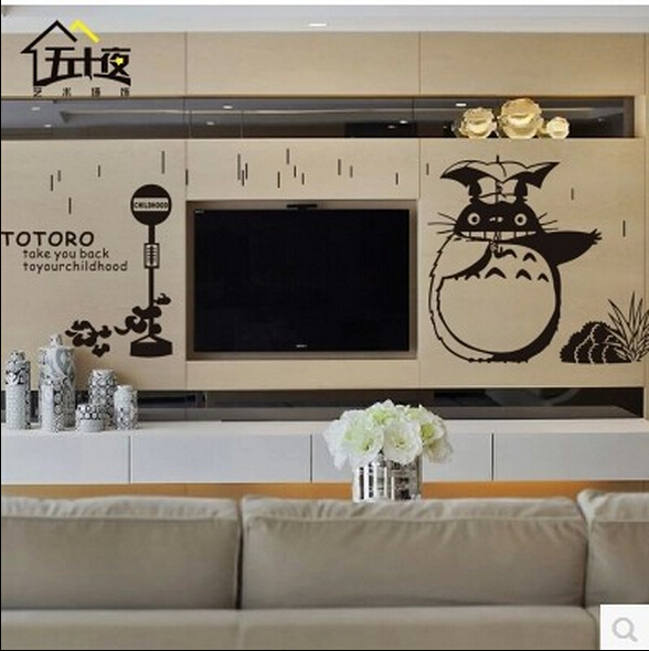 Superbe Totoro Wall Stickers Home Decoration 3d Wall Sticker Kids Bedroom Living  Dinning Room Decor Wall Paper