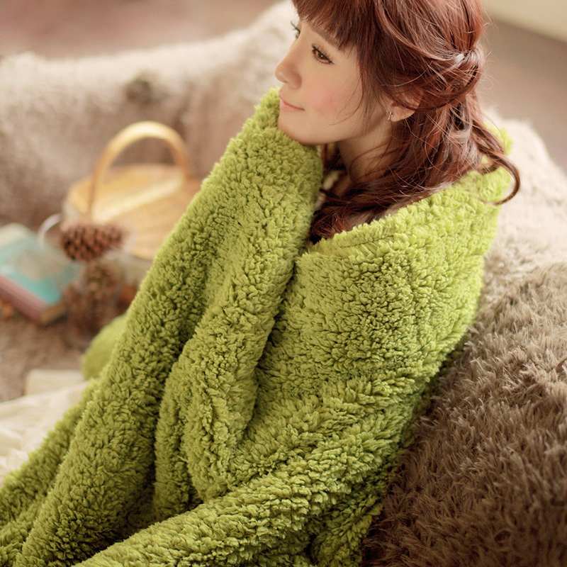 120X190cm Super Soft Winter Blanket Flannel Sofa Leisure Office Lunch Air Conditioning Blanket Double Thick Plaids 2017 brown leopard thread blanket gray knitted air conditioning sofa blanket 100% cotton 200 230cm soft bed sheet home textile
