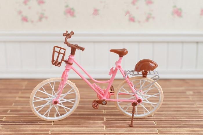 1:12 Dollhouse Miniature Black Metal Bicycle Bike old style HE002B