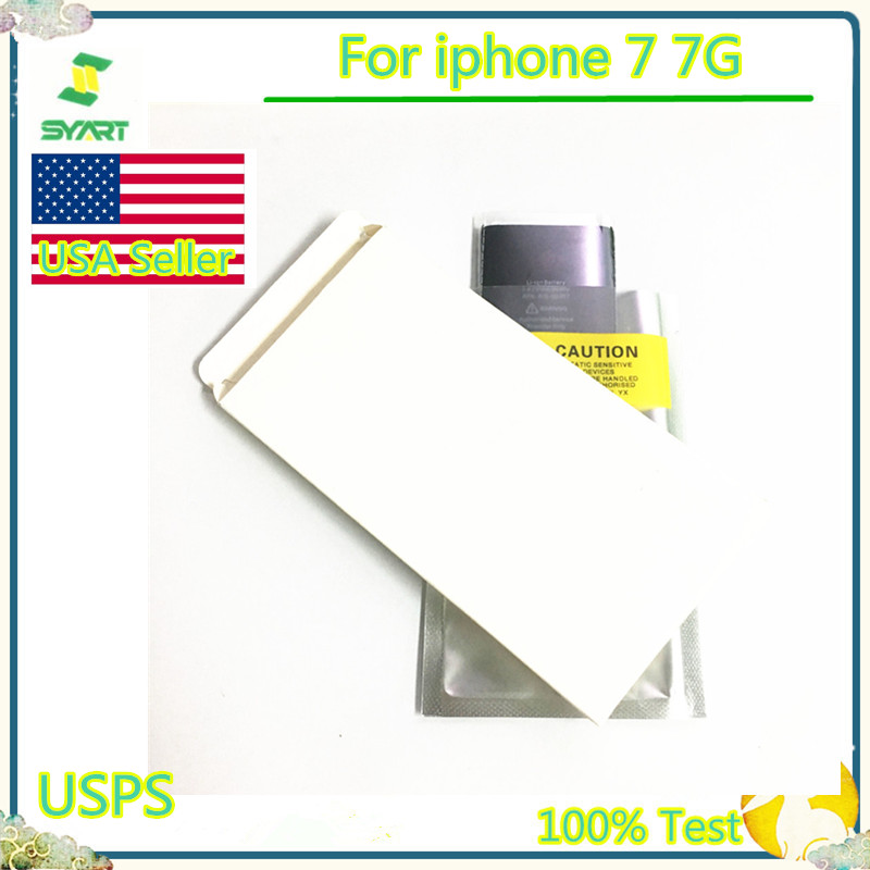 100% Tested SYART Battery For iphone7 7G Real Capacity Mobile Phone Replacement Battery 0 Cycle Phone Battery For iphone 7 7G