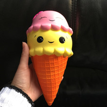 16cm Large Squishies Slow Rising Jumbo Toy Children Anti Stress Soft Ice Cream Cake Squishy Stress Relief Toys For Adult Gifts