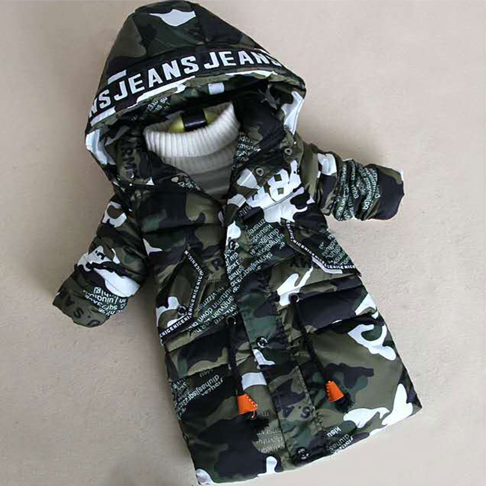 Fashion New Boys Coat 2018 Winter Jacket For Baby Boys Jacket Coat Kids Warm Outerwear Coat For Baby Kids Jacket Newborn Clothes boys jacket winter coat childrens outerwear winter style baby boys and girls warm cartoon coat clothes for 2 6years