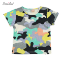 2017 Fashion summer Children's clothes for boy Camouflage t-shirts Print camo Clothing Kids Cotton short sleeve sport Tops