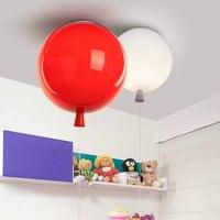 Nordic современный воздушный шар потолочный светильник спальня детская комната отдыха простой личности цвет Потолочная люстра