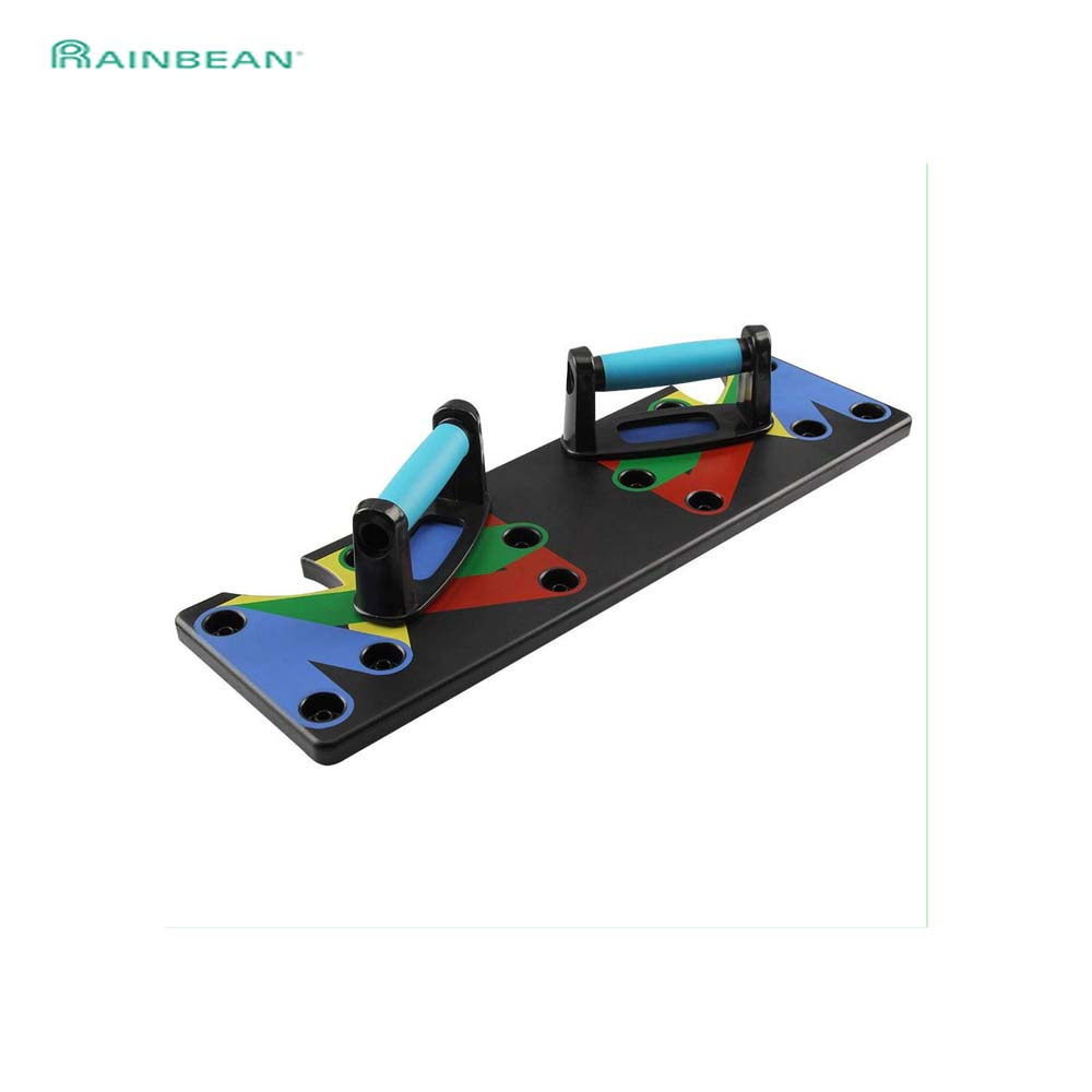 Gym Push-Up Rack Board System 9 In 1 Fitness Workout Train Exercise Stands Workout Exercise Equipment For Home Men Women