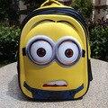 Гадкий я аниме творческие Приспешников 3D школьная сумка дорожная сумка 8-15 лет дети рюкзак детей мультфильм Рождество подарок