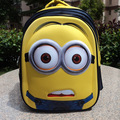Despicable Me anime creative Minions 3D school bag students travel bag 8 -15 years kids backpack children cartoon Christmas gift