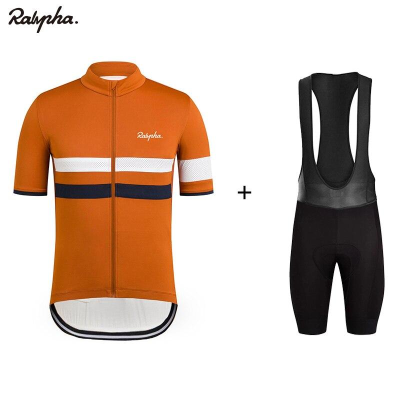 Raphaing 2019 Homens Ternos Camisa de Ciclismo ITALIA Bicicleta Jerseys Manga Curta Ciclismo Jerseys Bicicleta Roupas Respirável Conjuntos de Ciclismo