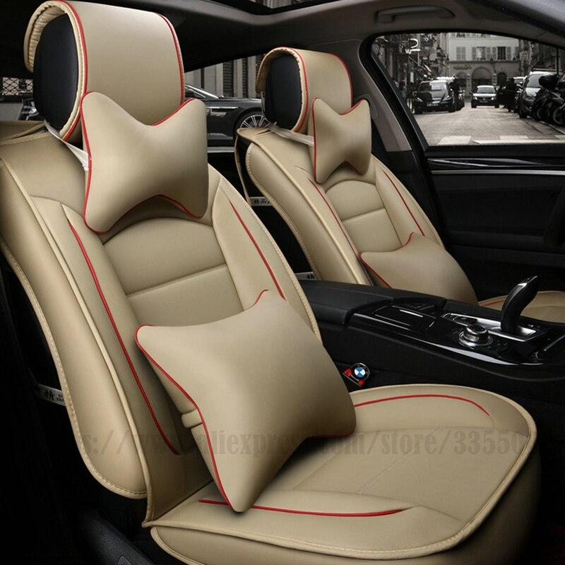 Housses de siège auto universelles pour ford ranger ford focus 2 fusion mk2 mondeo mk4 mk3 kuga accessoires auto protection de siège auto - 6