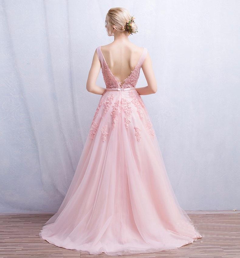 Vestido de festa Νέο Coming V Λαιμός με Lace Appliques - Ειδικές φορέματα περίπτωσης - Φωτογραφία 3