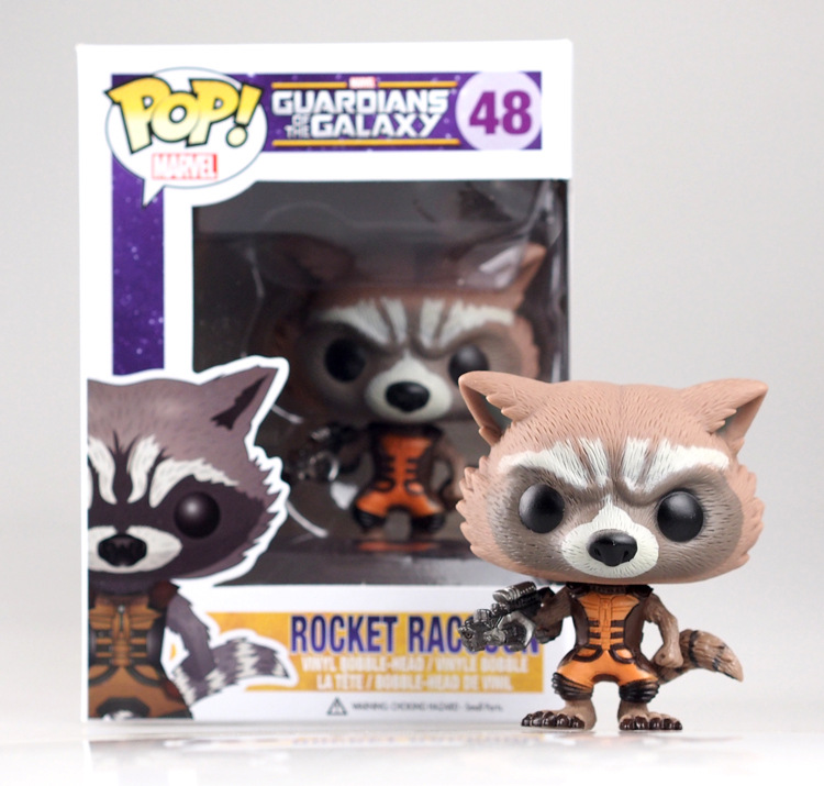"New! Genuine funko. funko <font><b>pop</b></font> <font><b>Guardians</b></font> <font><b>of</b></font> <font><b>the</b></font> <font><b>Galaxy</b></font> 48 <font><b>Rocket</b></font> Raccoon <font><b>vinyl</b></font> bobble-head <font><b>figure</b></font> 3.75"" <font><b>vinyl</b></font> <font><b>figure</b></font> <font><b>pop</b></font> <font><b>figures</b></font>"
