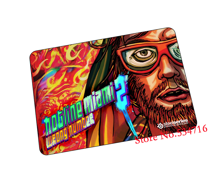 Hotline Miami mouse pad HD print gaming mousepad cheapest gamer mouse mat pad game computer desk padmouse keyboard play mats