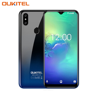 OUKITEL C15 Pro 2GB 16GB Android 9.0 Mobile Phone MT6761 Fingerprint Face ID 4G LTE Smartphone 2.4G/5G WiFi Water Drop Screen