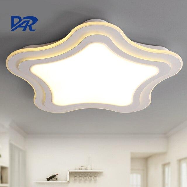 art deco estrellas de mar lustre luz de techo para habitacin de los nios modernos accesorios