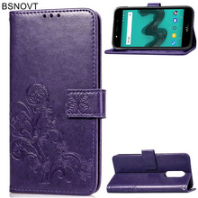 For Wiko Wim Lite Case Silicone Leather Wallet Bumper Anti-knock Phone Bag Case For Wiko Wim Lite Cover For Wiko Wim Lite BSNOVT бумага крепированная цвет жёлтый флюоресцентный 50 250см