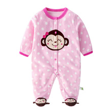 2019 One Pieces Spring Autumn Polar Fleece Baby Boy Girl Clothes KidsTales&Other Brand Newborn Romper Pajamas