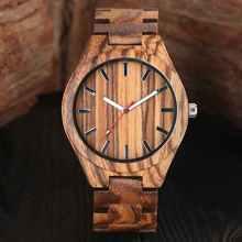 Luxus Natürliche Handgemachte Holz Uhr Minimalismus Top Geschenk Analog Kaffee Ahorn Männer Full Holz Armreif Stunden Uhr relogio de Madeira