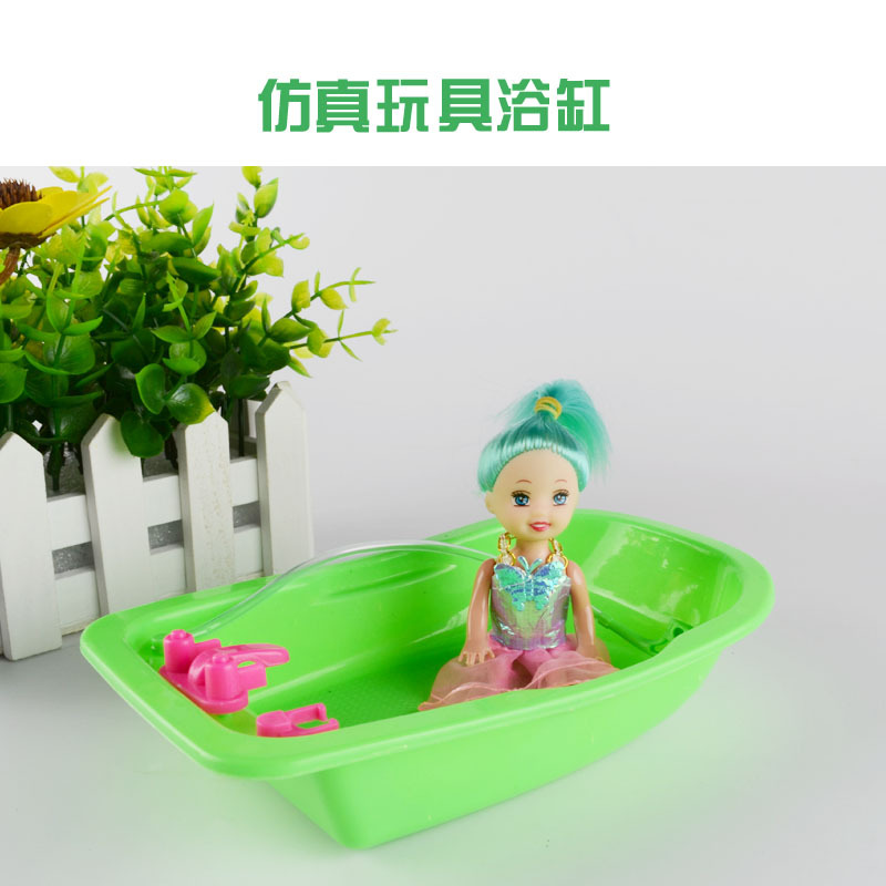 The new case for barbie doll furniture accessories / bath / Jacuzzi ...