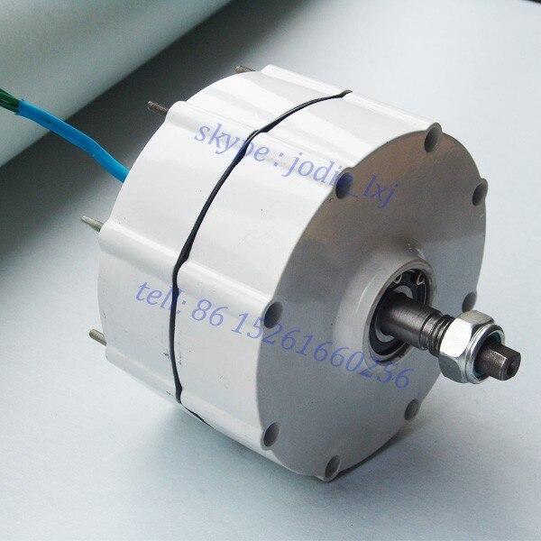 600 Вт 12 В/24 В бесщеточный AC редкоземельный постоянный магнит генератора/альтернативные генератор энергии