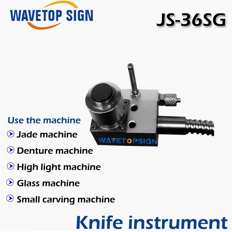 JS-36SG tool setting gauge Jade machine Denture High light  Glass machine Small carving machine high accuracy tool settle gauge wireless cnc router machine tool setting gauge height controller dt02