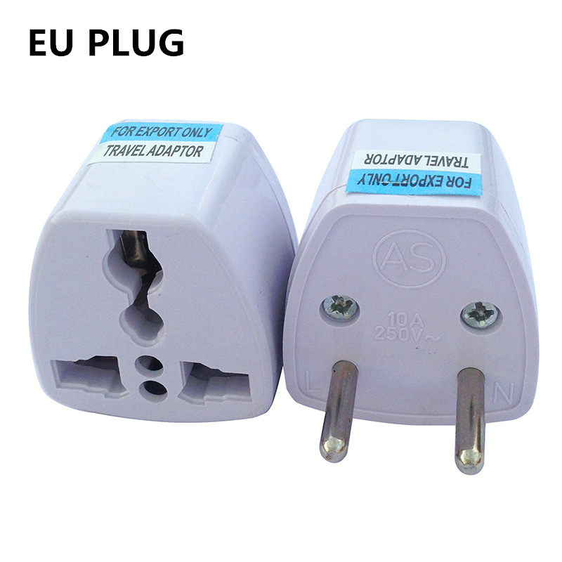 JRGK Universal Travel Adapter US AU EU UK Plug Travel Wall AC Power Adapter 250V 10A Socket Converter for Android TV box Mobile