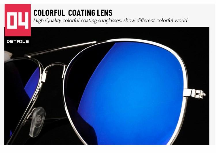 Luxury Aviator Sunglasses Women Men Brand Designer Reflective Mirror Sunglass Female Male Lady Sun Glasses Vintage Retro oculos (27)