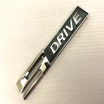 3D Chrome alloy 5Drive Badge Emblem car sticker For BMW X1 X3 X5 X6 E70 E83 E90 E91 F15 F16 F20 F21 F30 F10 car styling