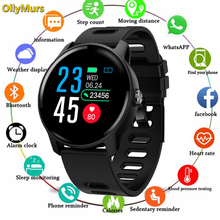 купить 2019 Men Smart Watch  S08 IP68 Waterproof  Fitness Tracker Heart Rate monitor Smartwatch Women Clock for android IOS Phone PK P2 по цене 1292.2 рублей