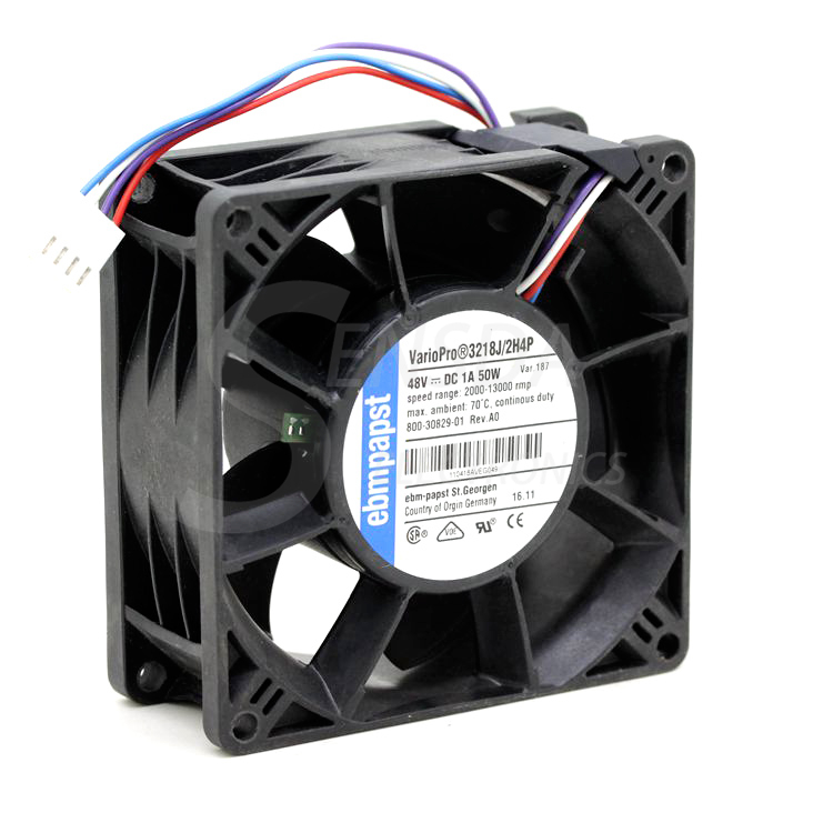 PAPST Original German EBMPAPST 3218J/2H4P DC 48V 1A 50W 9cm 90mm 9038 wind capacity fans blower cooler