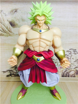 Dragonball Z DOD Dragon Ball Broli Legendary Super Saiyan Broli Son Goku Radish Kakarotto 25CM PVC  Action Figure Model Kids new hot 21cm dragon ball super saiyan 3 son goku kakarotto action figure toys doll collection christmas gift with box sy889