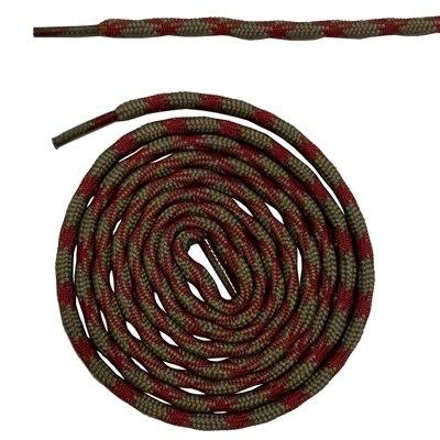 Нескользящие круглые шнурки для альпинизма разные цвета 120 см/47 дюймов - Цвет: Light brown red