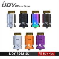 Original IJOY 5S Tanque 2.6 ml sabor vapor RDTA atomizador cigarrillo electrónico para joyetech cuboides O capitán PD270 MOD innovadora aiflow