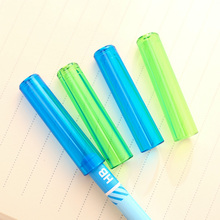 6Pcs/Bag Colorful Pencil Caps Protect Pencil Head Avoid Harming Children's Eyes And Face Pen Extender School Students Home 0508