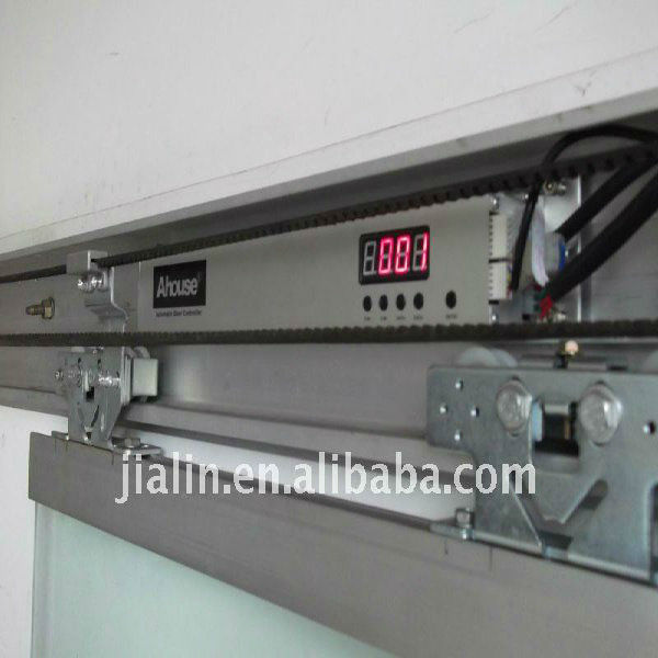 Automatic Sliding Glass Door Mechanism With Track, Sliding Door System,  Automatic Door Operator