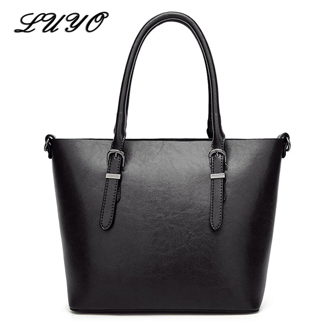 7336e6e694 LUYO Patent Leather Large Capacity Luxury Handbags Women Shoulder Bags  Designer Bag Neutral Michael Female High