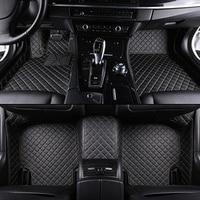 Custom Car Floor Mats For Opel All Models Astra H J G Mokka Insignia Cascada Corsa