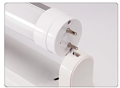 t8 led tube light holder aluminum fixture ,clips and connectors and screws  included single ended wire or double ended wiring