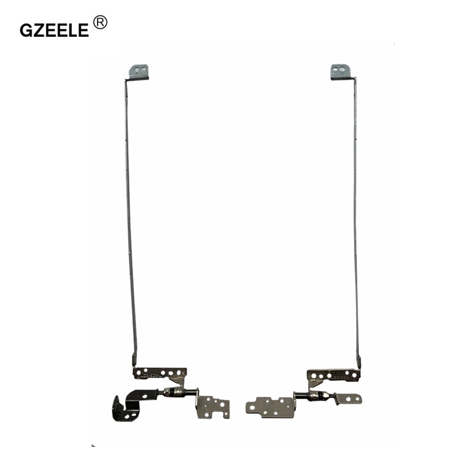 GZEELE New Laptop LCD/LED Hinges For LENOVO Ideapad Z580 Z585 PN:FBLZ3014010 130330 FBLZ3015010 130329 Left+Right LCD Screen