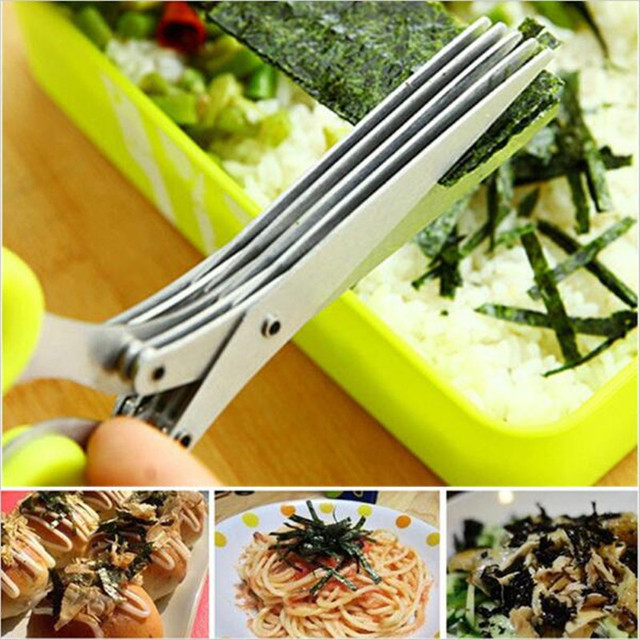 Multifunctional Kitchen Scissor With 5 Layers