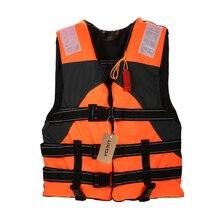 Lixada Fishing Vest Outdoor Adult Lifesaving Life Jacket Vest Clothing Swimming Marine Life Jackets Safety Survival Suit