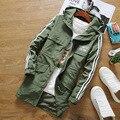 2016 otoño nueva casual pareja chaqueta larga sección de la chaqueta de los hombres de la cremallera con capucha ropa de abrigo chaqueta de punto de protección solar
